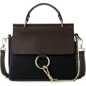 Leather Ring Bag